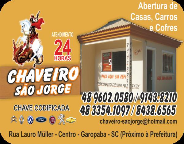 Chaveiro São Jorge