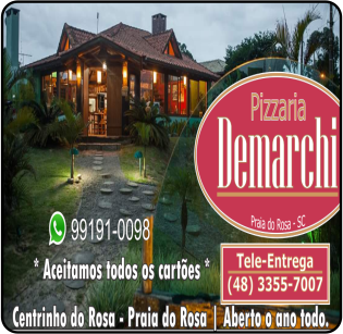 Pizzaria Demarchi Praia do Rosa imbituba